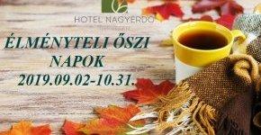 - Élményteli őszi napok (min. 2 éj)